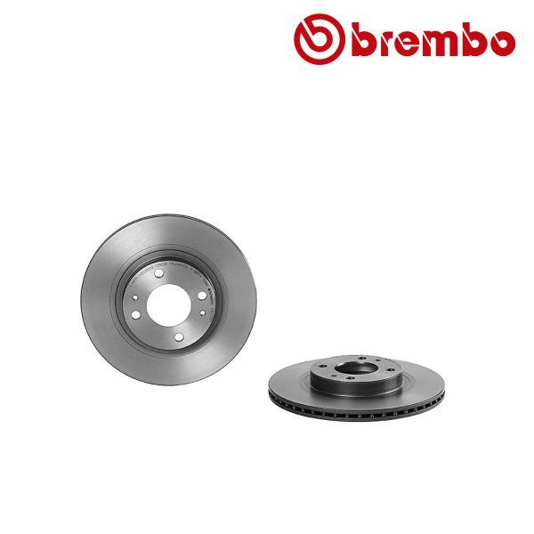 Remschijven voorzijde Brembo premium MITSUBISHI i MiEV