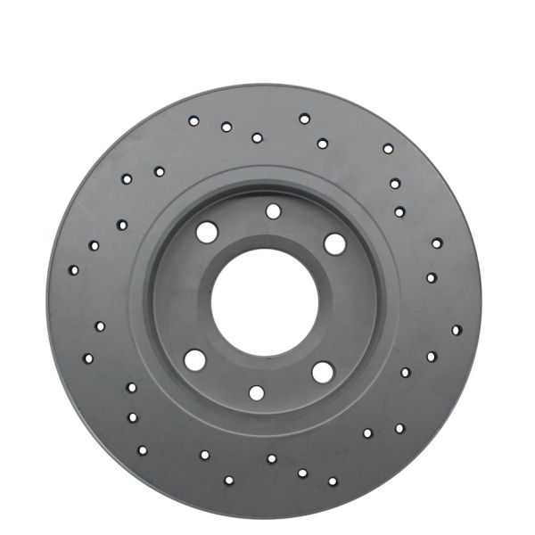 Geperforeerde remschijven voorzijde Sport kwaliteit MITSUBISHI LANCER III 1.2