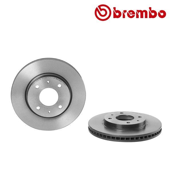 Remschijven voorzijde Brembo premium MITSUBISHI LANCER VII 1.3