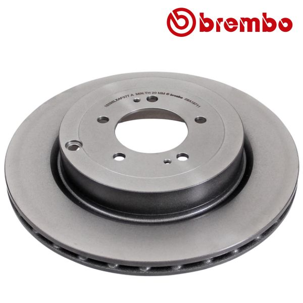 Remschijven achterzijde Brembo premium MITSUBISHI LANCER VIII EVO X