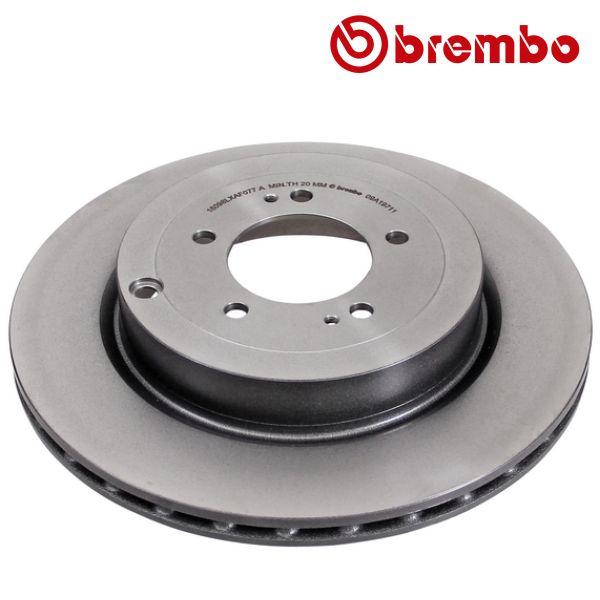 Remschijven achterzijde Brembo premium MITSUBISHI LANCER VIII EVO X - FQ330