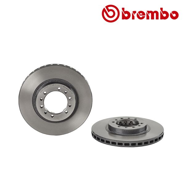 Remschijven voorzijde Brembo premium MITSUBISHI PAJERO II 3.0 V6 24V