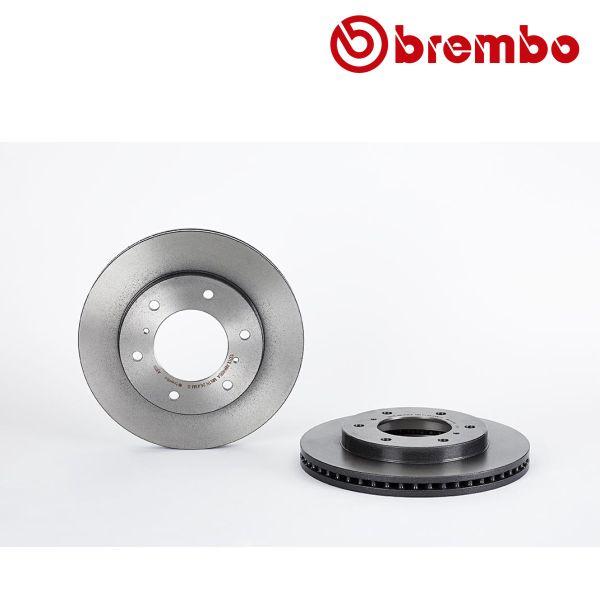Remschijven voorzijde Brembo premium MITSUBISHI PAJERO IV 3.0 4WD