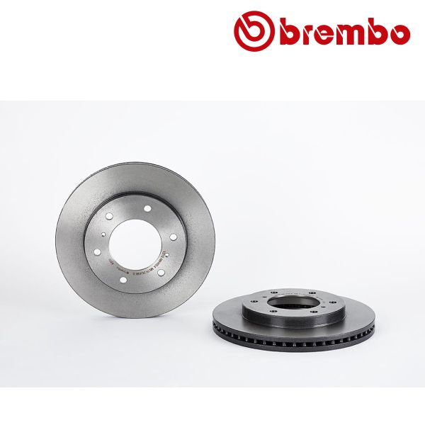 Remschijven voorzijde Brembo premium MITSUBISHI PAJERO IV 3.2 4WD
