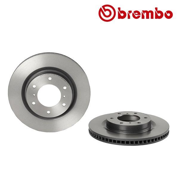 Remschijven voorzijde Brembo premium MITSUBISHI PAJERO IV 3.2 DI-D 4WD