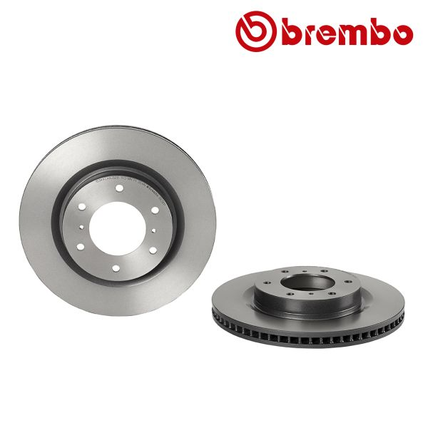 Remschijven voorzijde Brembo premium MITSUBISHI PAJERO IV 3.8 V6