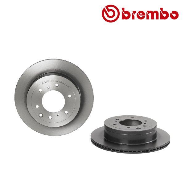 Remschijven achterzijde Brembo premium MITSUBISHI PAJERO IV Van 3.2 DI-D 4WD