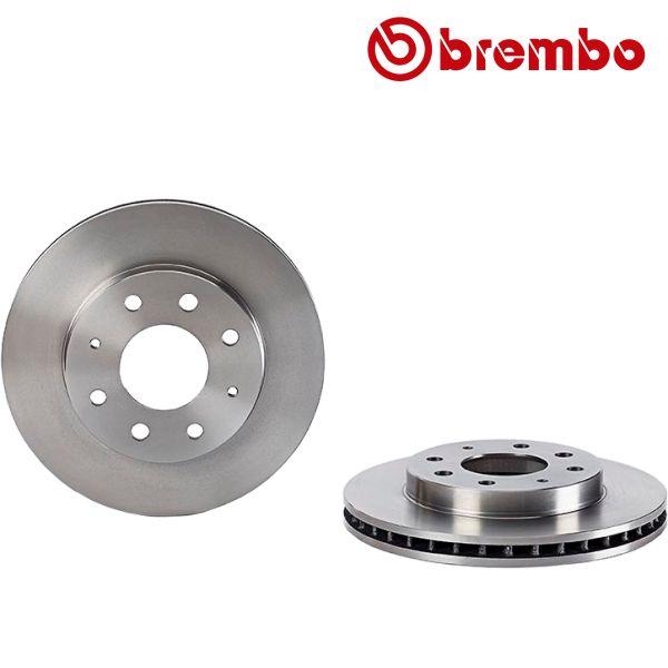 Remschijven voorzijde Brembo premium MITSUBISHI SANTAMO 2.0 16V