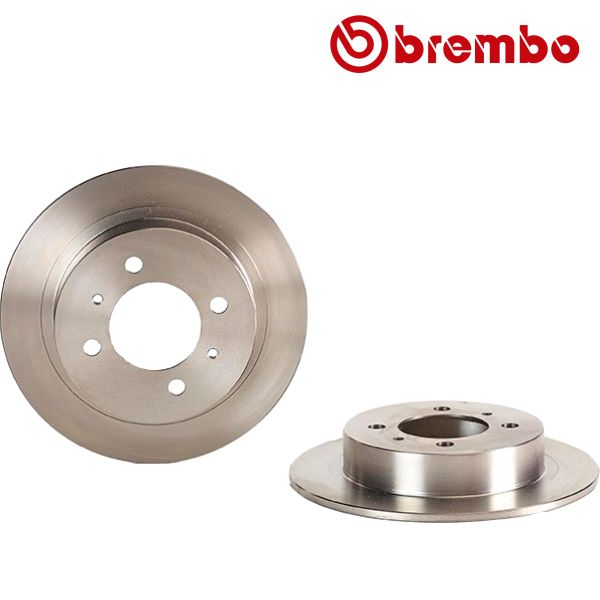 Remschijven achterzijde Brembo premium NISSAN 100NX 1.6 SR