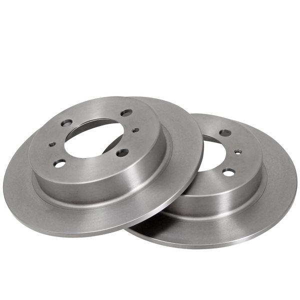 Remschijven achterzijde originele kwaliteit NISSAN 100NX 1.6 SR