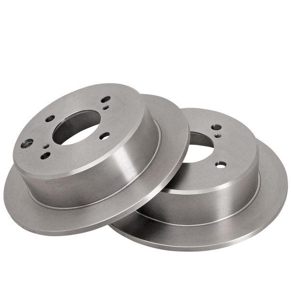 Remschijven achterzijde originele kwaliteit NISSAN 200SX 1.8