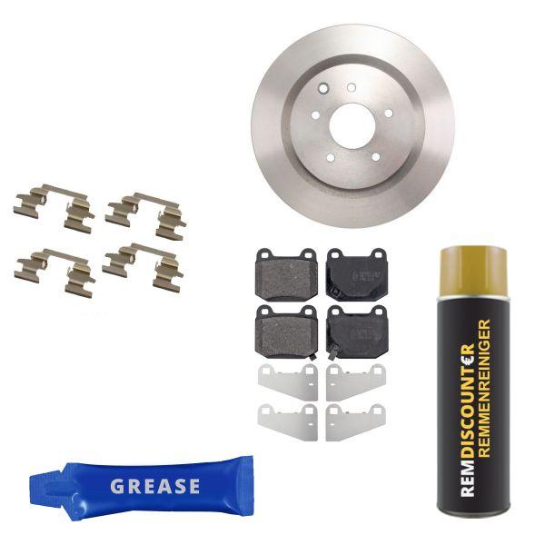 Voordeelpakket remschijven & remblokken achterzijde NISSAN 350 Z Coupé 3.5