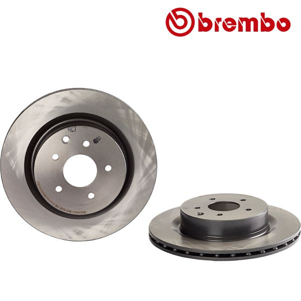 Remschijven achterzijde Brembo premium NISSAN 350 Z Coupé 3.5
