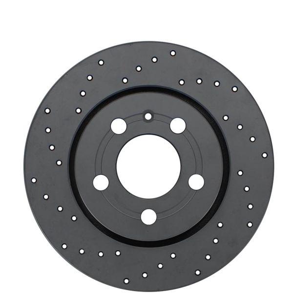 Geperforeerde remschijven achterzijde Sport kwaliteit NISSAN 370Z Coupé 3.7