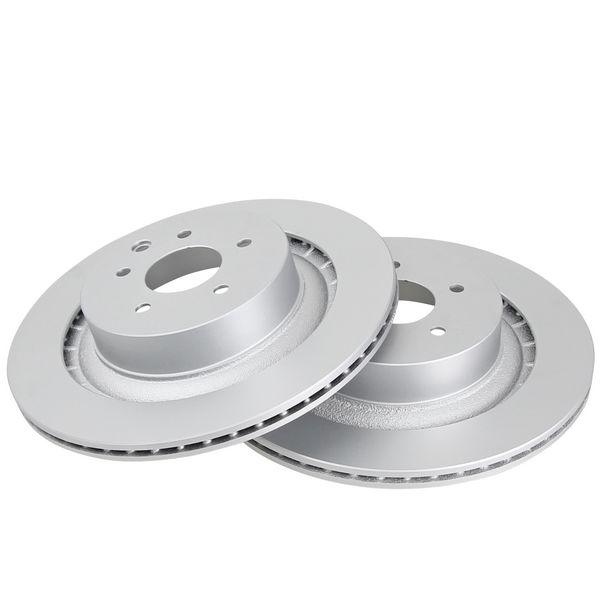 Remschijven achterzijde originele kwaliteit NISSAN 370Z Coupé 3.7