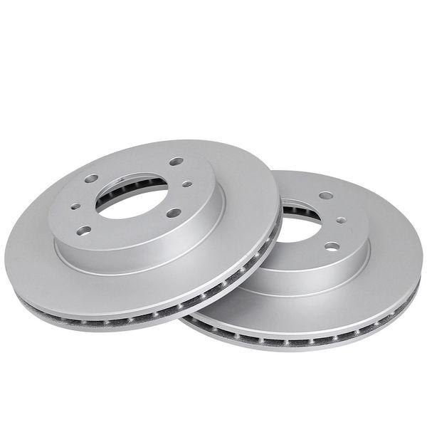 Remschijven voorzijde originele kwaliteit NISSAN ALMERA Classic 1.6 16V