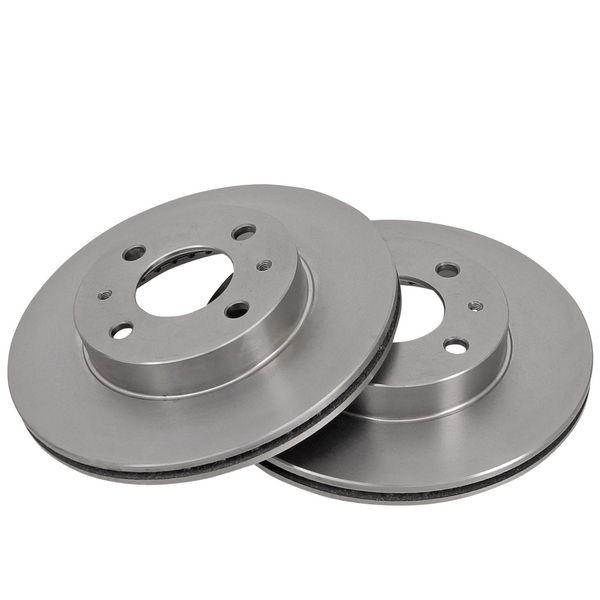 Remschijven voorzijde originele kwaliteit NISSAN ALMERA I Hatchback 1.5