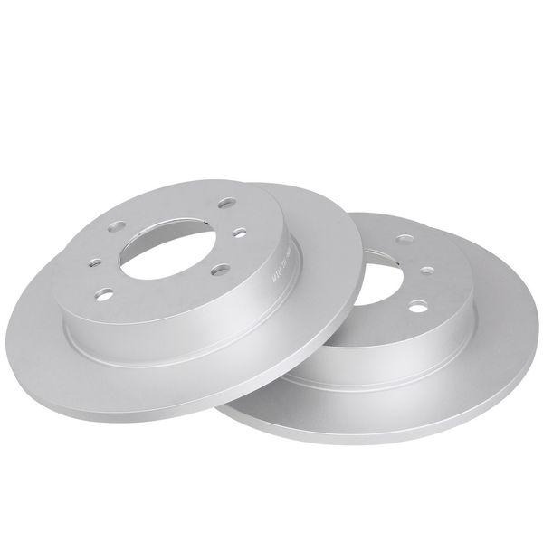 Remschijven achterzijde originele kwaliteit NISSAN ALMERA II Hatchback 1.5 dCi