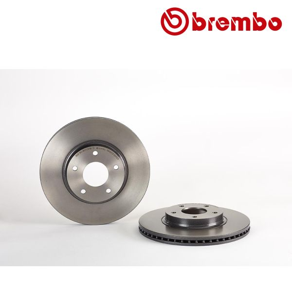Remschijven voorzijde Brembo premium NISSAN ALTIMA 2.5