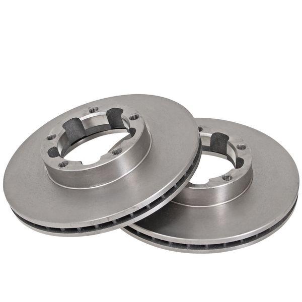 Remschijven voorzijde originele kwaliteit NISSAN CABSTAR E 120.35, 120.45