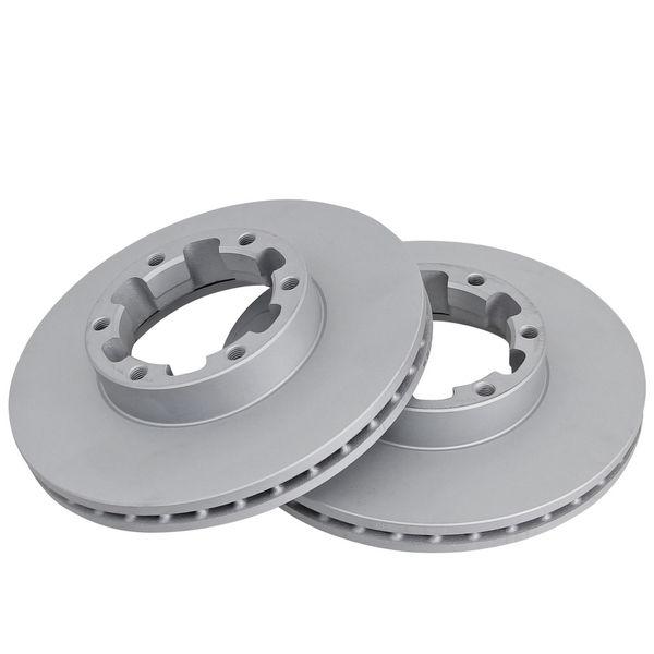 Geperforeerde remschijven voorzijde Sport kwaliteit NISSAN CABSTAR E 120.35, 120.45