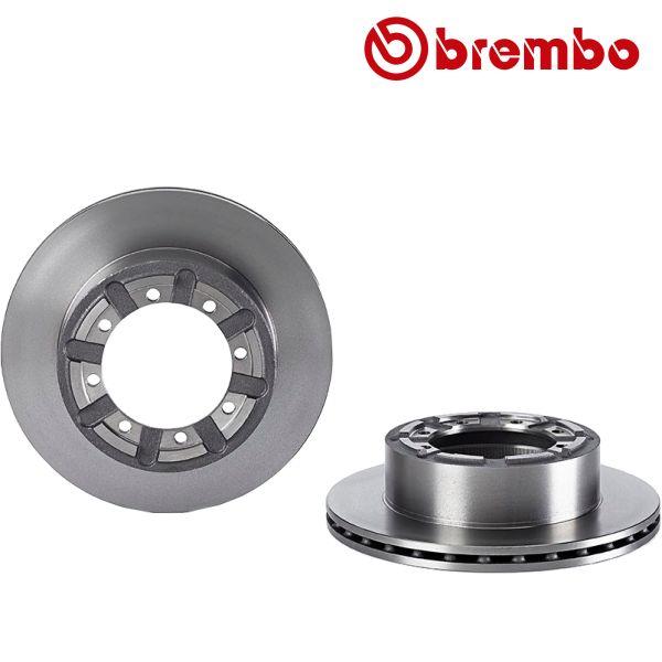 Remschijven achterzijde Brembo premium NISSAN CABSTAR E 125.35, 125.45