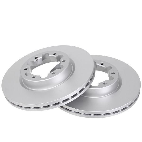 Remschijven voorzijde originele kwaliteit NISSAN CABSTAR E 125.35, 125.45