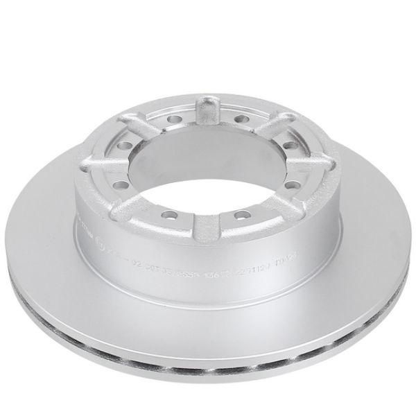 Geperforeerde remschijven achterzijde Sport kwaliteit NISSAN CABSTAR E 125.35, 125.45