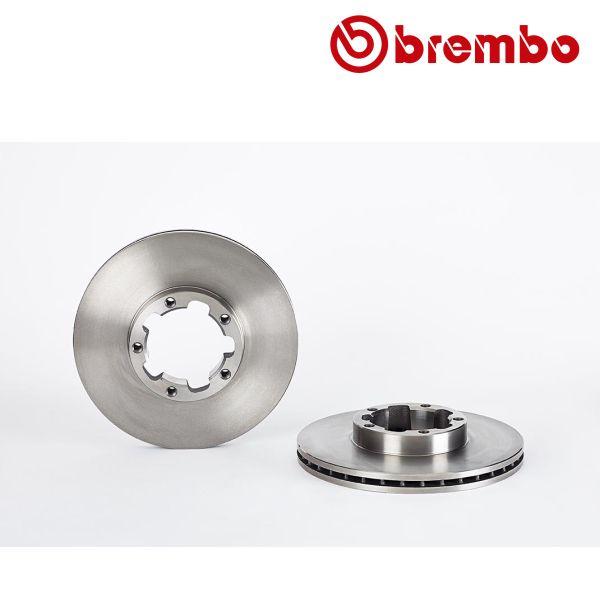 Remschijven voorzijde Brembo premium NISSAN CABSTAR E 90.32, 90.28, 95.32, 95.28