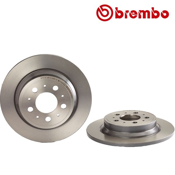 Remschijven achterzijde Brembo premium VOLVO S60 I 2.4