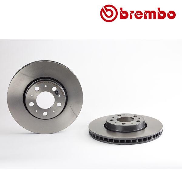 Remschijven voorzijde Brembo premium VOLVO S60 I 2.4