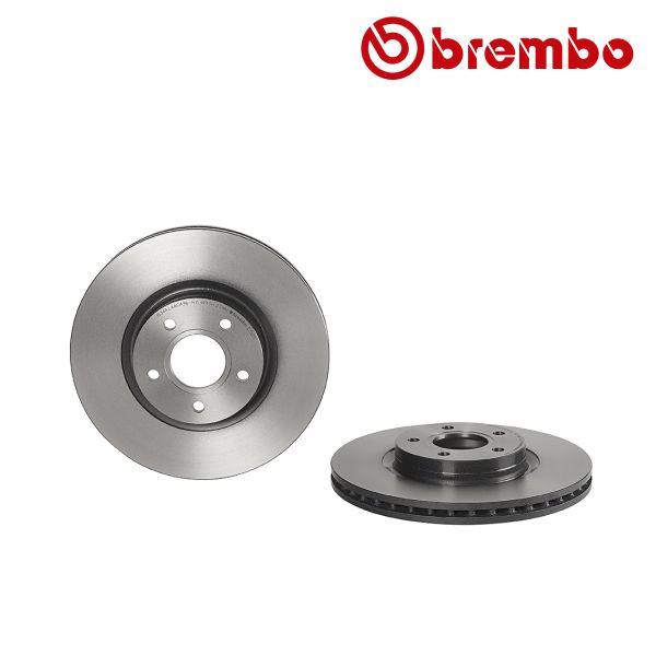 Remschijven voorzijde Brembo premium VOLVO V50 2.0 D