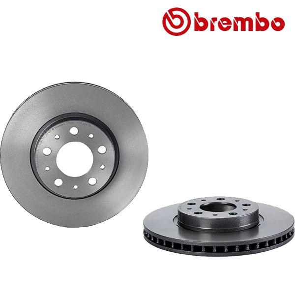 Remschijven voorzijde Brembo premium VOLVO V70 I 2.4