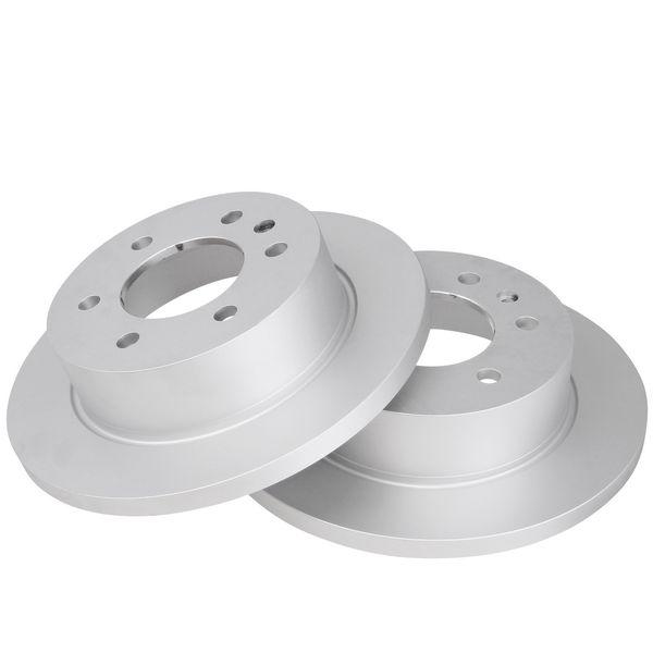 Geperforeerde remschijven achterzijde Sport kwaliteit VW VOLKSWAGEN CRAFTER 30-35 Bus (2E_) 2.5 TDI