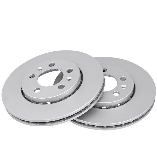 Remschijven voorzijde originele kwaliteit VW VOLKSWAGEN POLO (9N_) 1.4 16V
