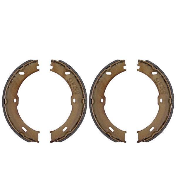 Remschoenset, parkeerrem achterzijde VW VOLKSWAGEN CRAFTER 30-50 Bestelwagen (2E_) 2.0 TDI 4motion