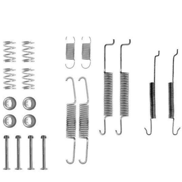 Remschoen -montageset achterzijde VW VOLKSWAGEN POLO (6R1, 6C1) 1.2 TDI