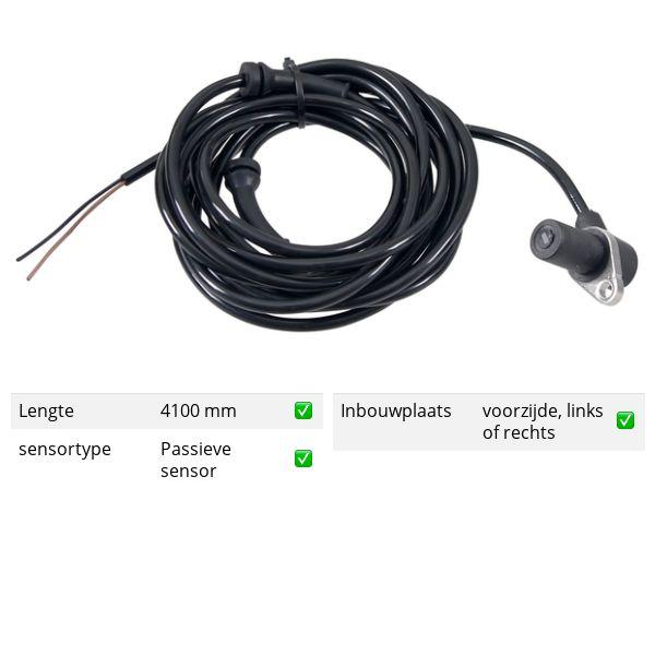 ABS-sensor voorzijde, links of rechts MERCEDES-BENZ VITO Bestelwagen (638) 110 CDI 2.2